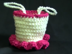 Ballerina and Princess Crochet Purse - Free Pattern And Video Tutorial