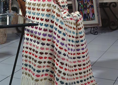 Easy Scraps Afghan Free Crochet Pattern Knit And Crochet Daily