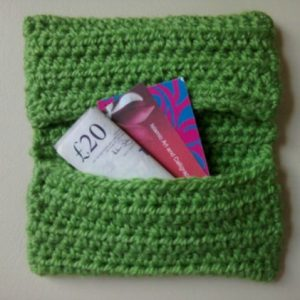 Easy Credit Card/Money Purse - Free Pattern And Video Tutorial