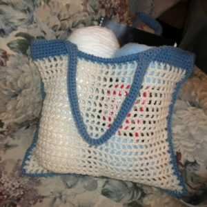 Mesh Market Crochet Bag - Free Pattern And Video Tutorial