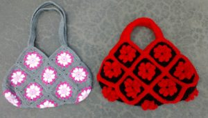 Granny Square Crochet Bag - Free Pattern And Video Tutorial