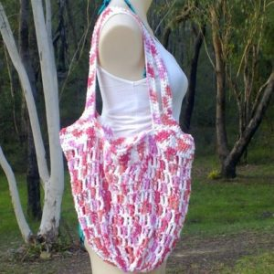 Market Mesh Bag Crochet Pattern- - Free Pattern And Video Tutorial