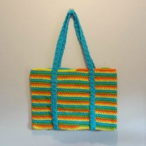 Spiral Beach Crochet Bag - Free Pattern And Video Tutorial