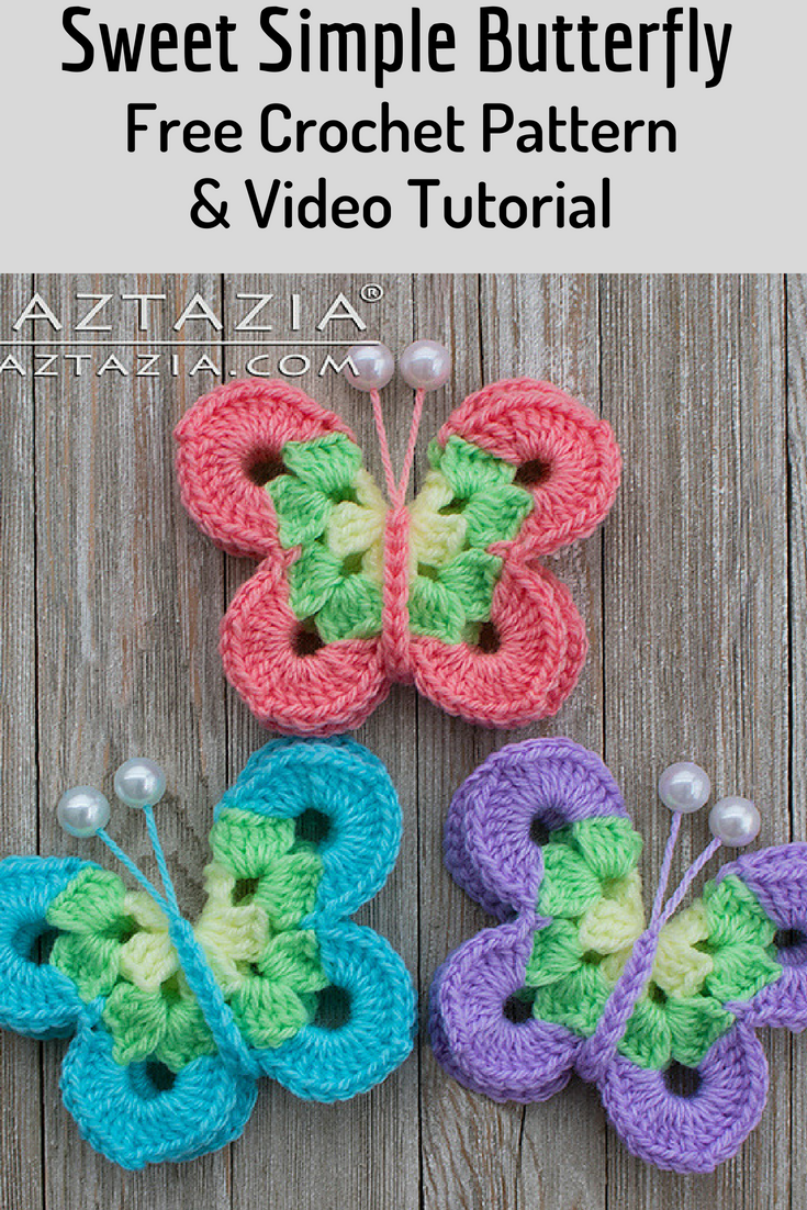 How a crochet butterfly knits and where it can be used 11