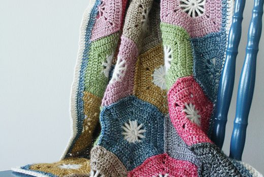 Very Special Crochet Hexagon Blanket Free Pattern Knit And Crochet