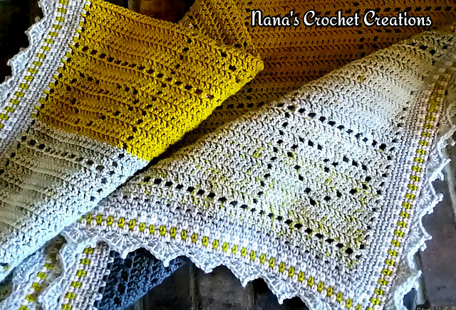 Amazing Quick And Easy Happy Hearts Blanket - Crochet Pattern