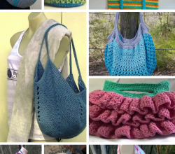 Crochet Mesh Market Bag Pattern Archives Knit And Crochet Daily