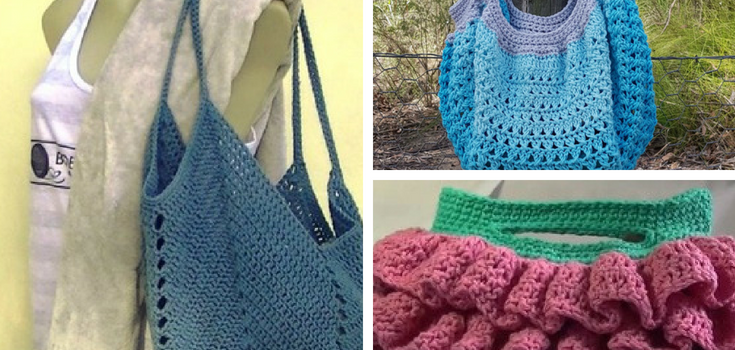 Crochet Bag Patterns Free Patterns And Video Tutorials Knit And
