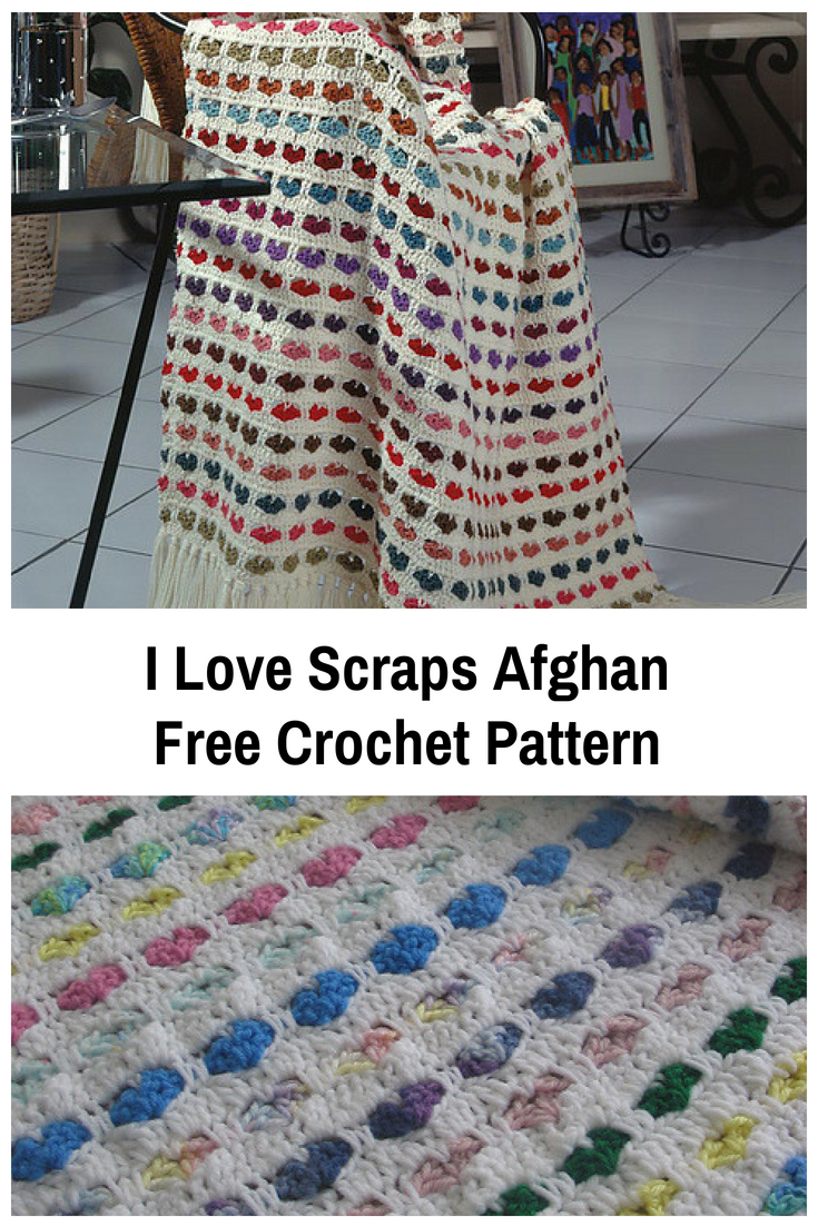 Easy Scraps Afghan Free Crochet Pattern - Knit And Crochet Daily