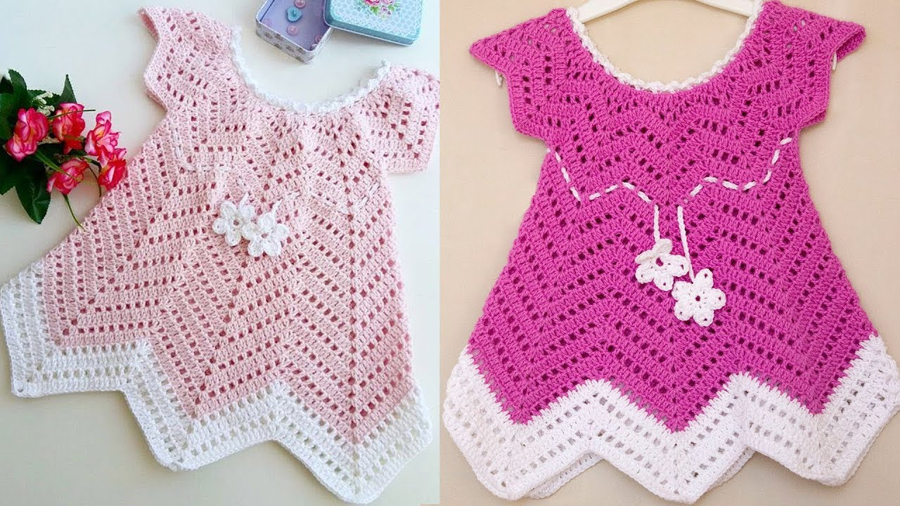Cute Crochet Summer Dress For Little Girl Free Pattern