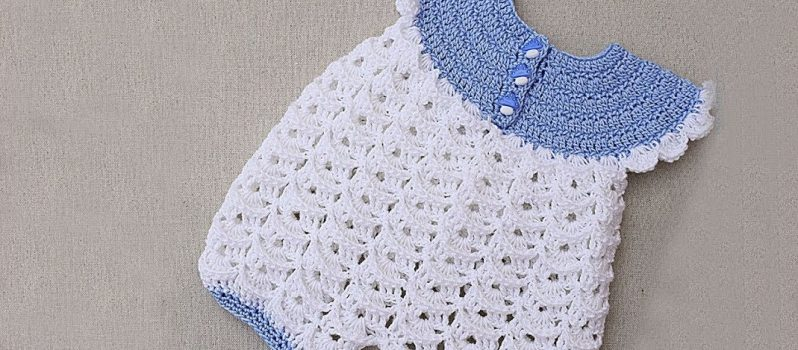 730bc4156bb0 Crochet Baby Romper Free Pattern- Knit And Crochet Daily
