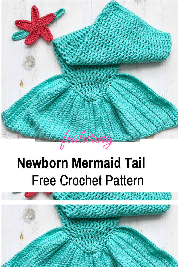Baby Mermaid Crochet Pattern New Design