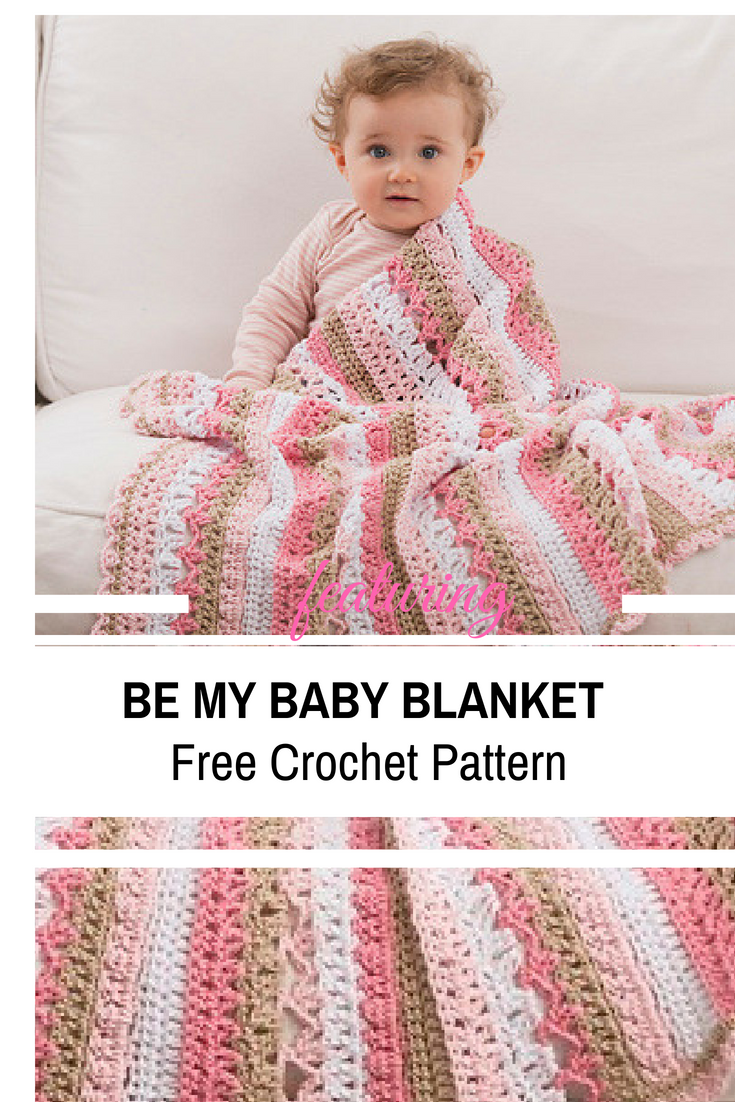 Easy Stitches Baby Blanket Free Crochet Pattern