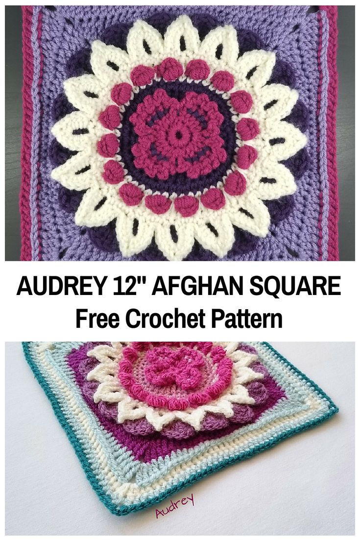 Sweet Floral Crochet Granny Square Stands Out In More Ways Than One