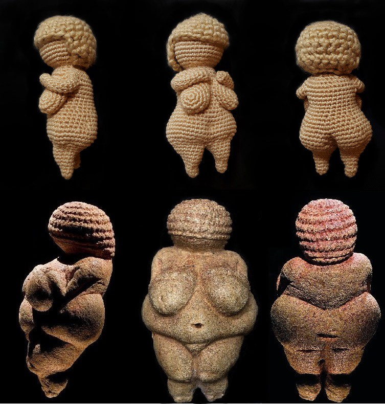 Beautiful Venus In Casket For The History Lover Crocheter