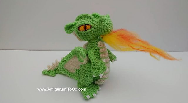 Small But Mighty Dragon Free Crochet Pattern For Your Next Project