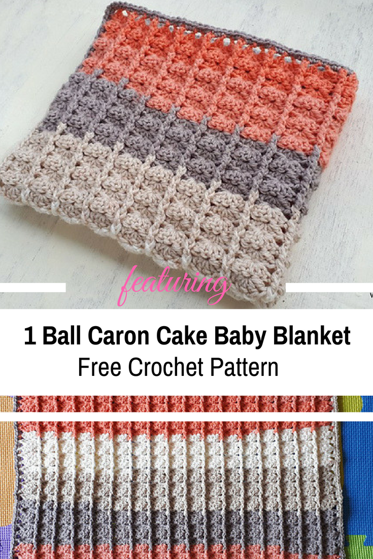 This 1 Ball Baby Blanket Makes A Great Last Minute Present [Free Pattern]