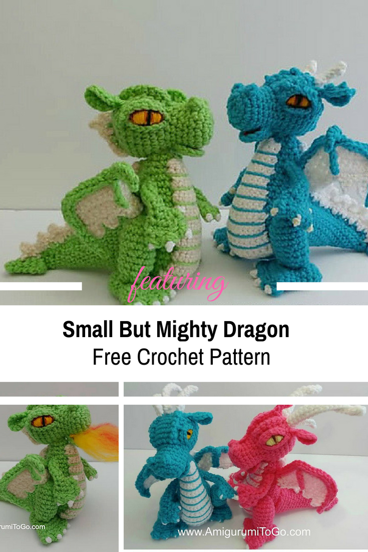 [Free Pattern] The Small But Mighty Dragon Is So Amazing!