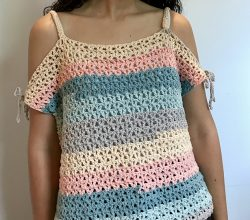Crochet Top Pattern Archives Knit And Crochet Daily