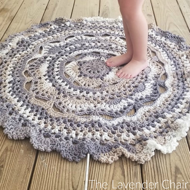 Midnight Star Mandala Rug Is The Perfect Accent Piece To