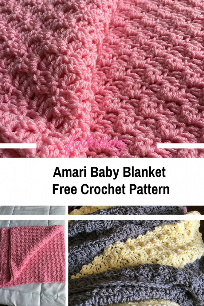 Simple And Quick Baby Blanket Pattern For Beginner Crocheters
