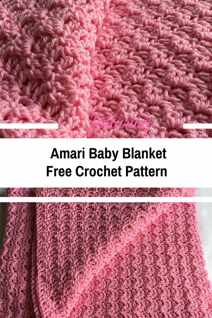 Simple And Quick Baby Blanket Pattern For Beginner Crocheters Knit