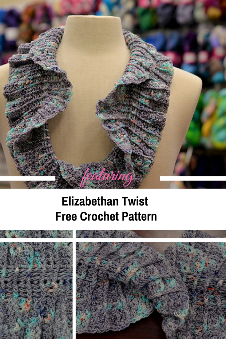 Easy Mobius Twist Scarf Crochet Pattern Knit And Crochet Daily