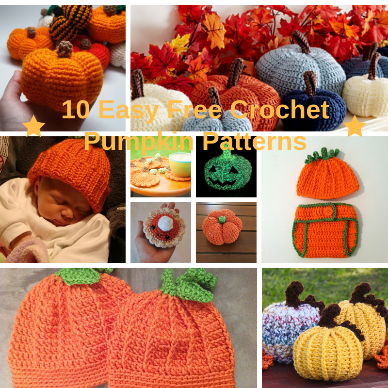 10 Easy Free Crochet Pumpkin Patterns Knit And Crochet Daily