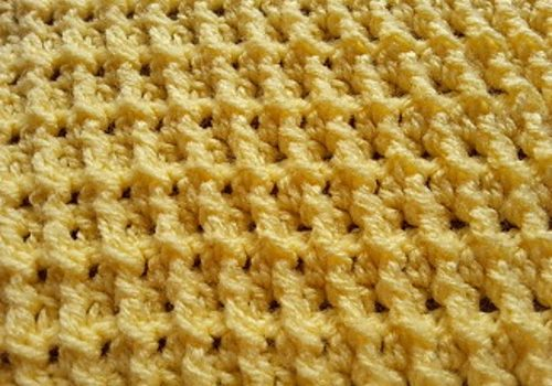 Ribbed Chip Crochet Stitch Free Pattern