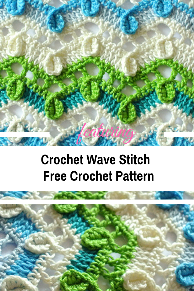 Crochet Wave Stitch Free Pattern