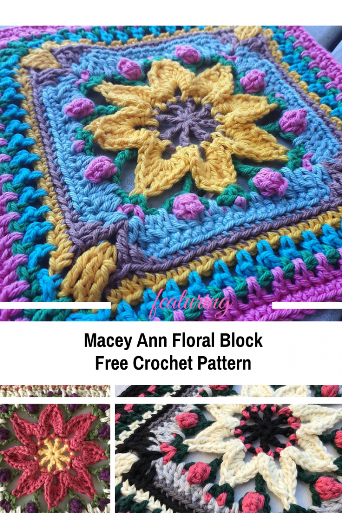 Gorgeous Floral Block For Blankets To Treasure Forever And Ever