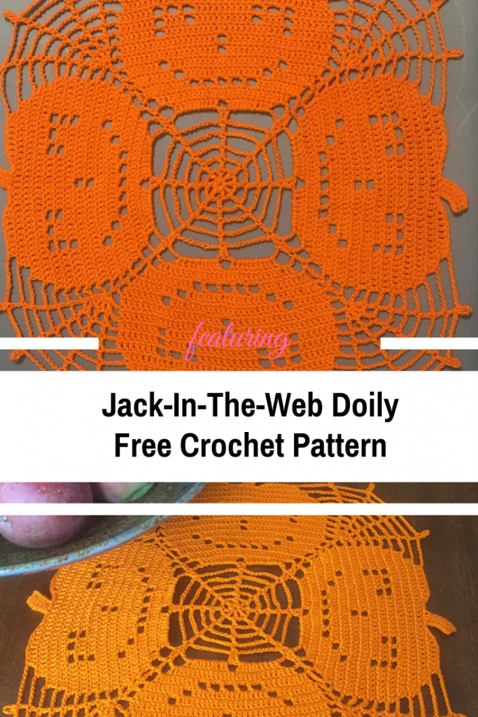 Fabulous And Free Pumpkin Doily Crochet Pattern
