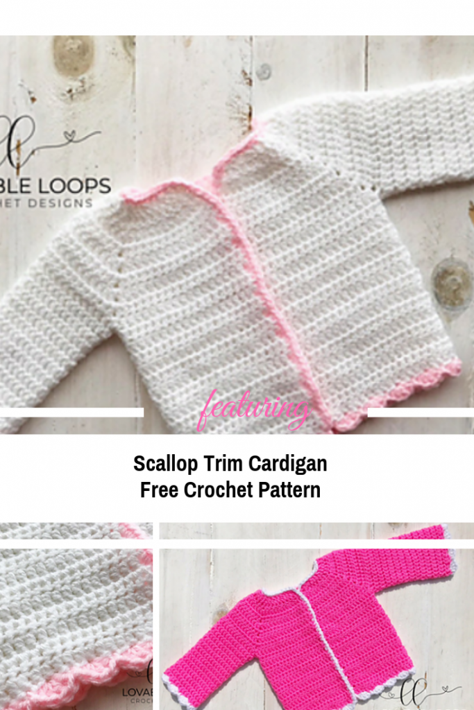 Simple And Easy Long Sleeved Cardigan For Babies And Toddlers [Free Pattern]