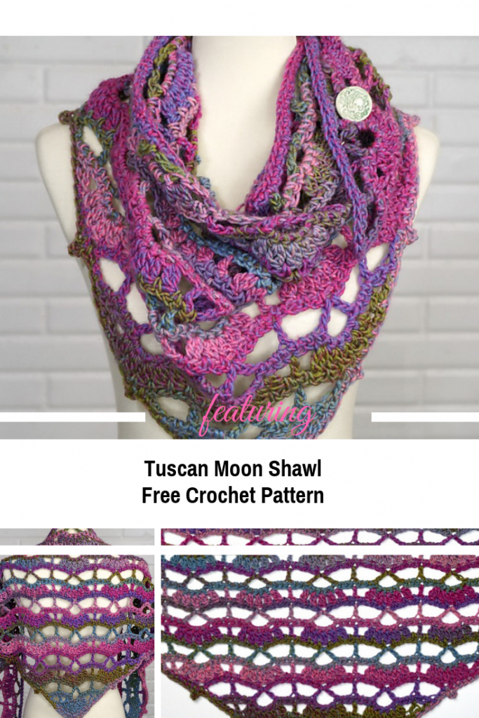 Pretty And Quick Lacy Crochet Shawl Pattern