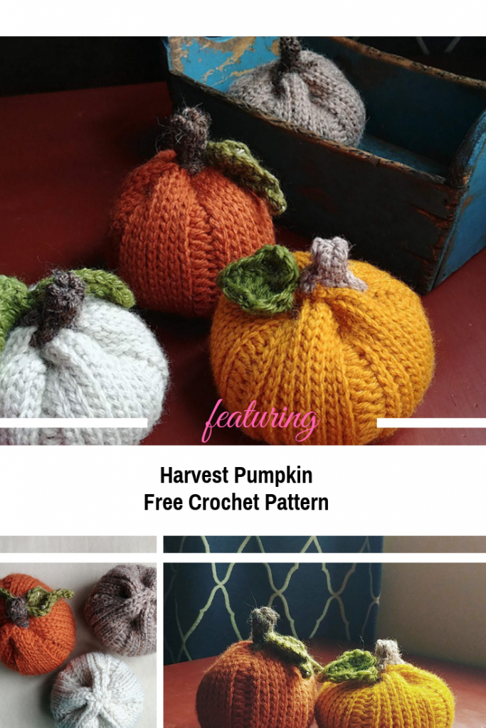 Cute Free Crochet Pumpkin Pattern