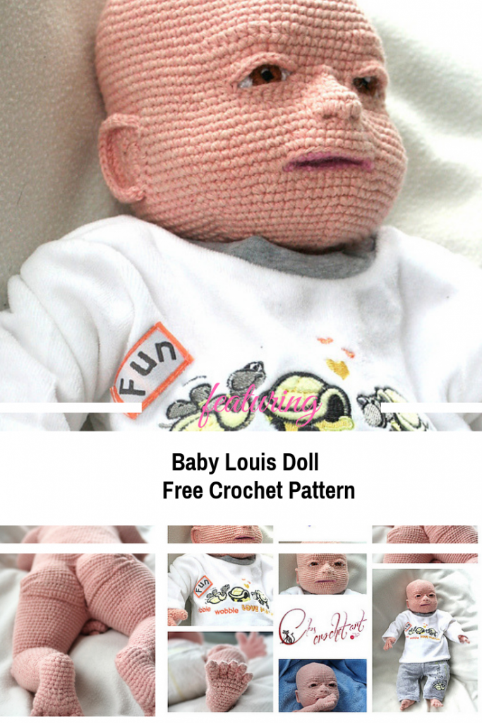 Amazing Crochet Baby Doll Free Pattern