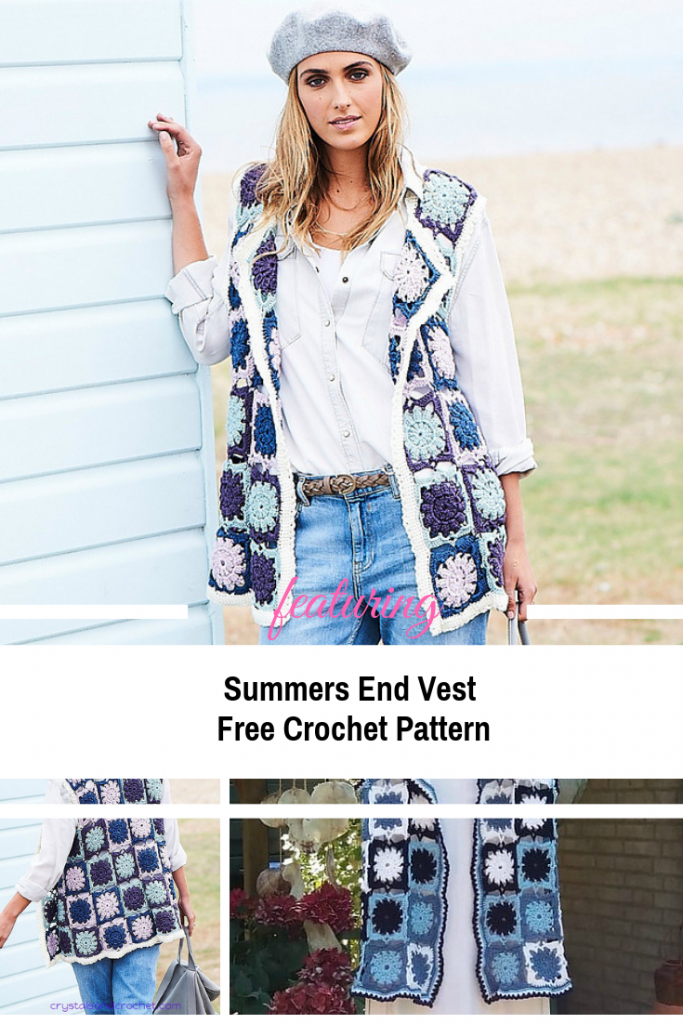 This Supper Simple Summers End Vest Is The Perfect Accessory For Chilly Mornings Or Evenings