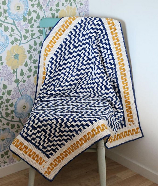 Fantastic One Step Beyond Blanket Free Crochet Pattern