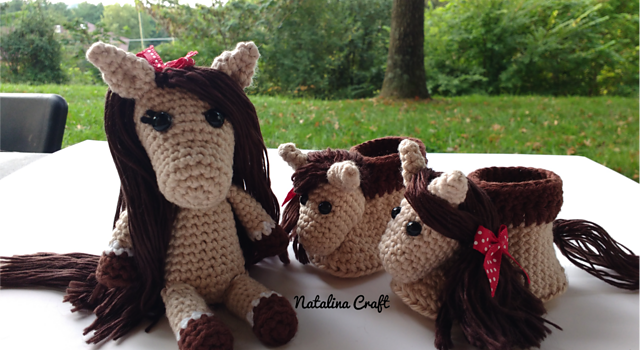 Lucky the Amigurumi Horse • Oombawka Design Crochet | 350x640