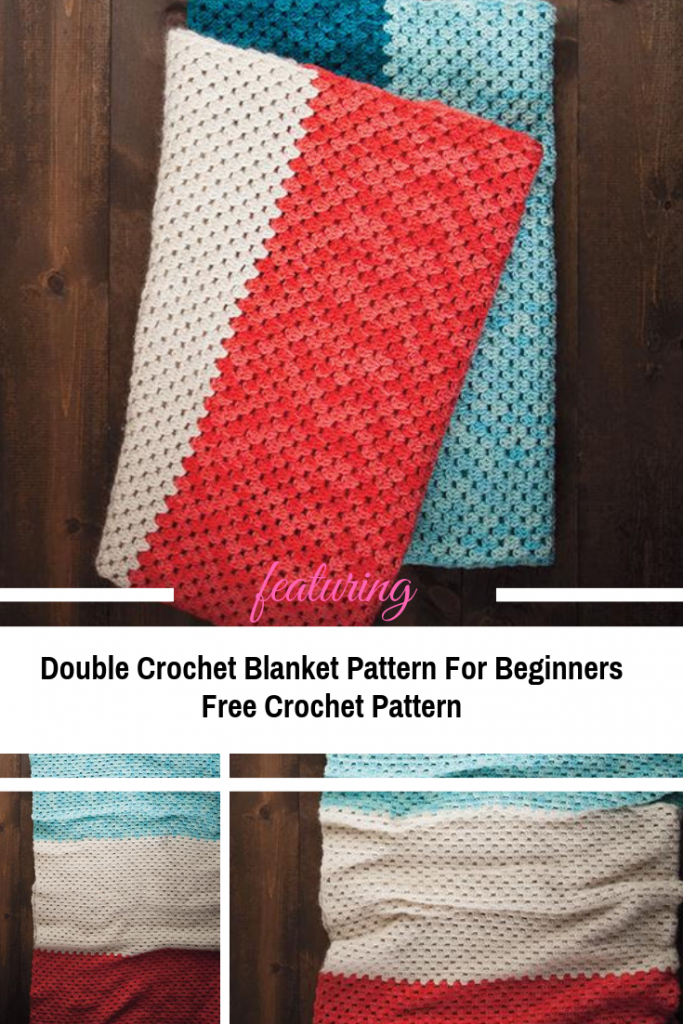Easy All Double Crochet Blanket Pattern For Beginners Knit And