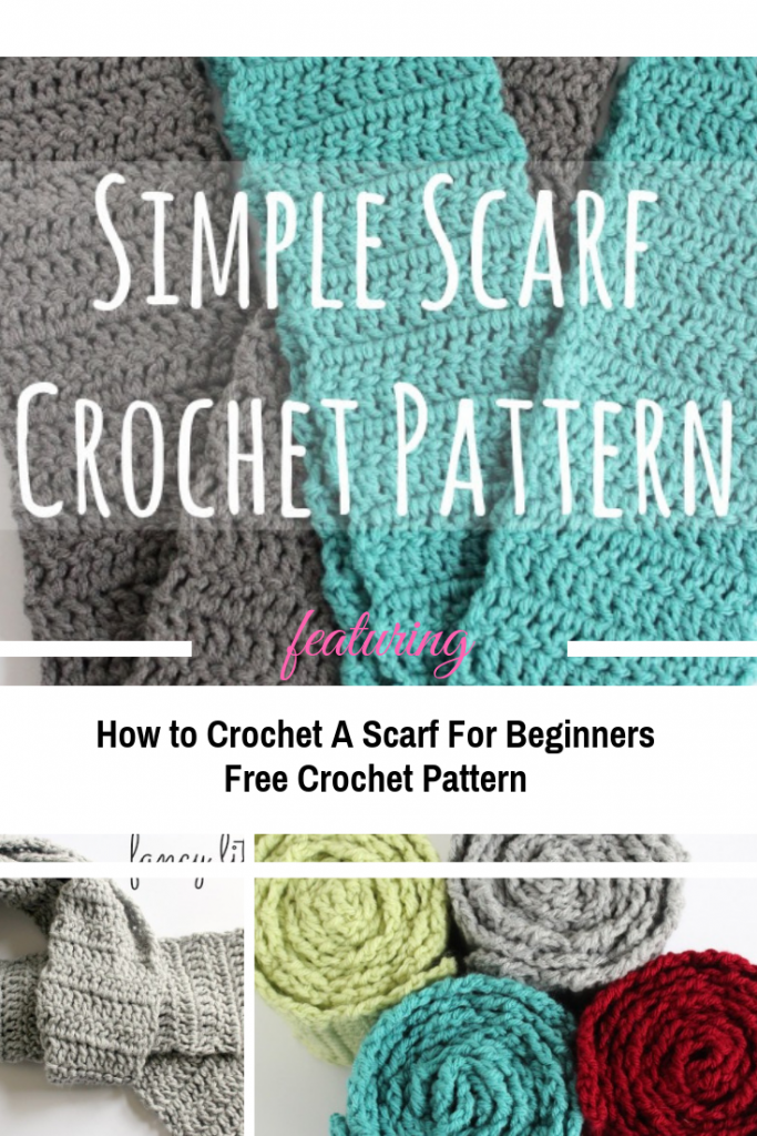 How To Crochet A Scarf For Beginners Knit And Crochet Daily