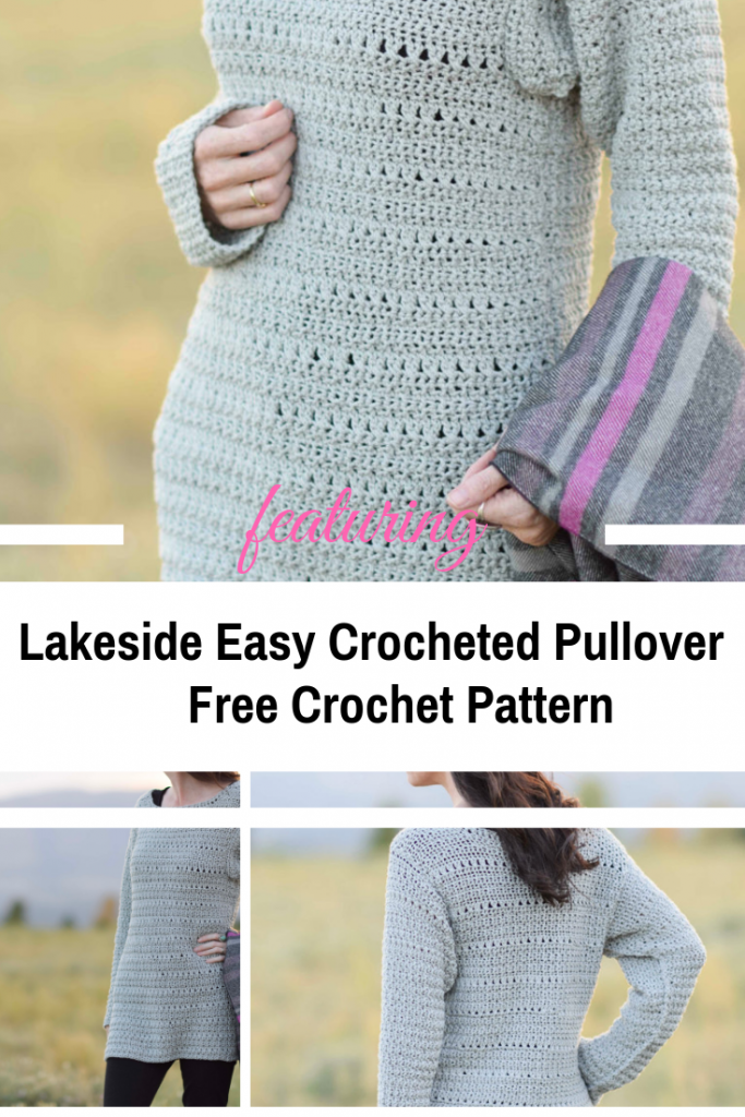 Easy Crocheted Pullover Pattern For Lazy Days At Home [Free Pattern]