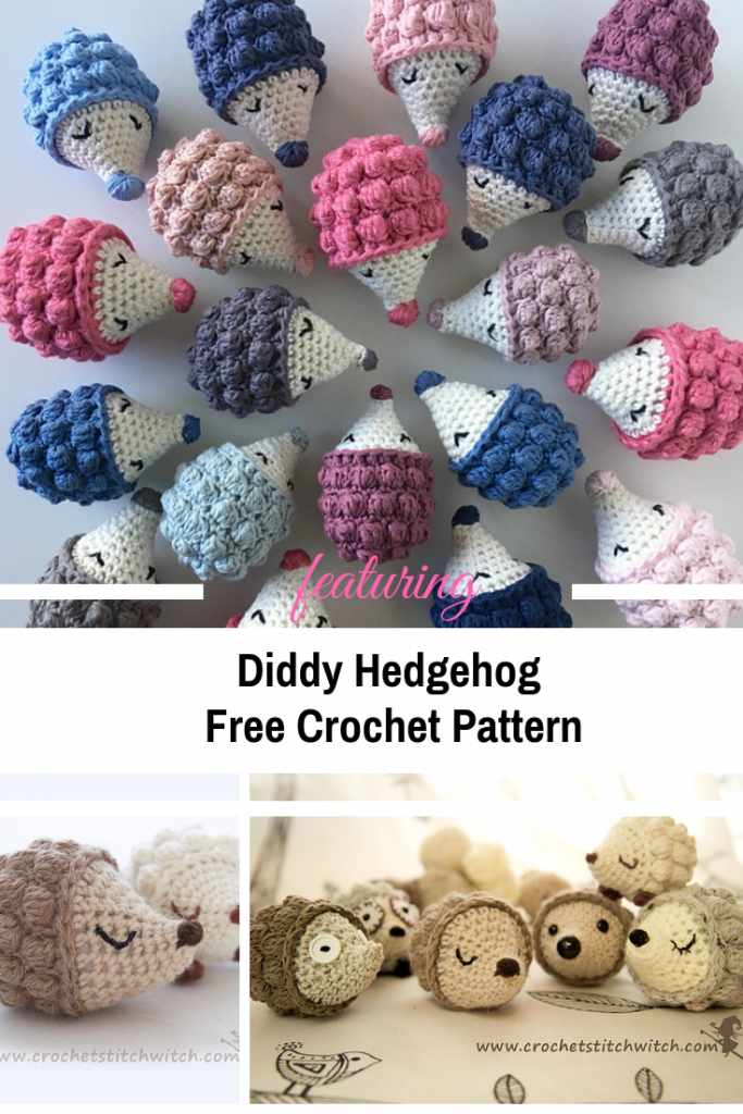 Everyone Loves This Cute Hedgehog Amigurumi Free Pattern