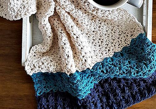 Easy Tea Towel Crochet Pattern To Add Style To Your Kitchen