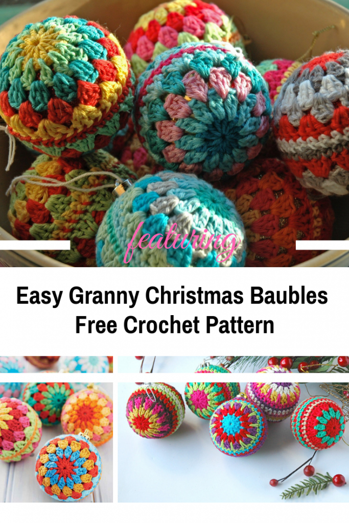 Easy Granny Christmas Baubles For Stunning Decoration Ideas