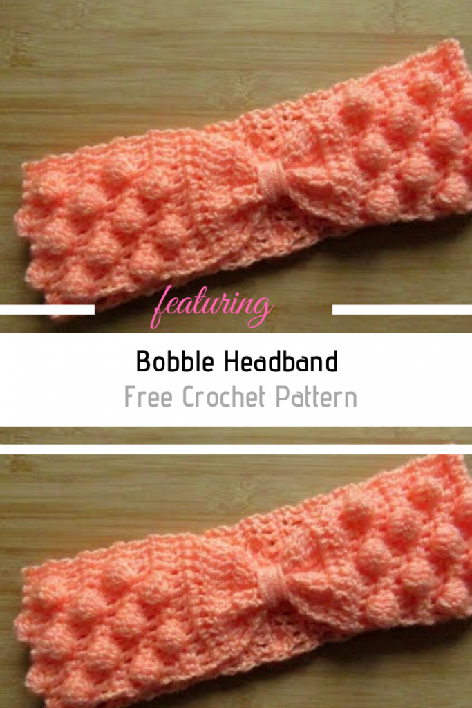 Awesome Crochet Bobble Headband You Can Make Right Now!