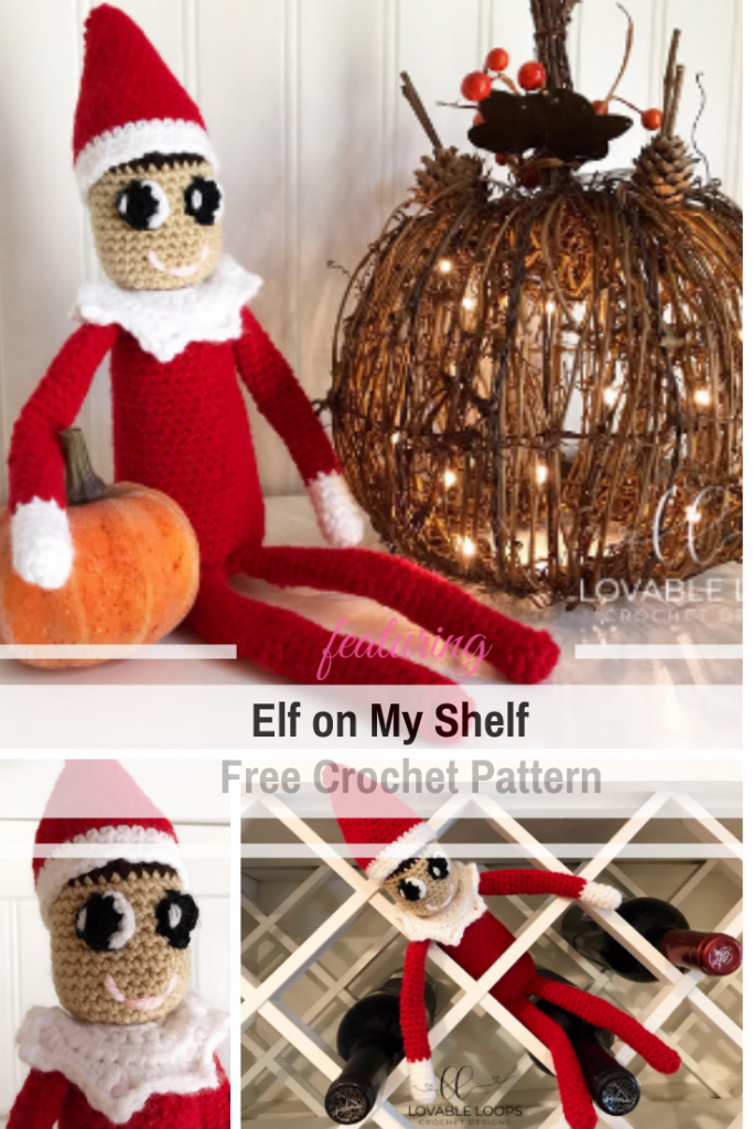 This Free Elf On The Shelf Crochet Pattern Will Capture The Hearts Of Children