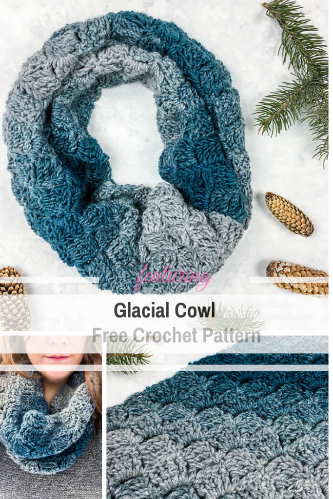 One Skein Crochet Cowl Pattern Easy For Even The Advanced Beginner Crocheter