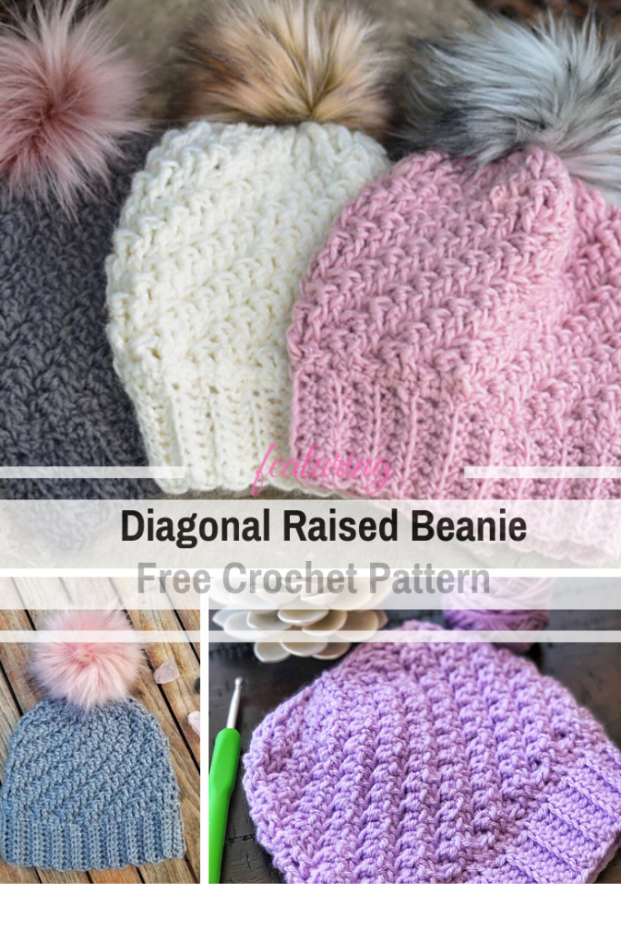 This Chunky Beanie Crochet Pattern Is The Perfect Last Minute Gift