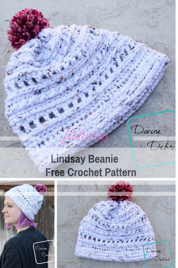 Free Beanie Crochet Pattern With Great Texture
